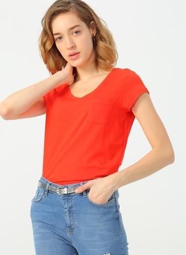 Fashion Friends Tişört Mercan